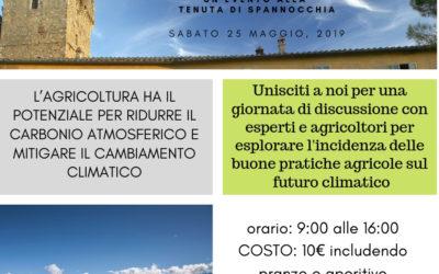 L'agricoltura e il Cambiamento Climatico, un evento a Spannocchia 25 maggio 2019